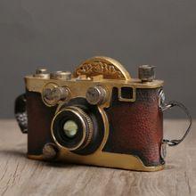 Смолы home decor ретро украшения украшение помещения подарок ремесло старинные домашнего декора маленькая камера модель украшения(China (Mainland))