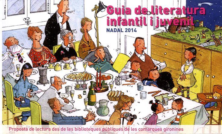 Guia de lectures recomanables per a infants i joves feta pel grup  CLER, professionals de les biblioteques de comarques gironines. Nadal 2014. http://www.bibgirona.cat/assets/documents/000/197/109/Guia_St_Jordi_2015.pdf Il·lustració portada: Cristina Losantos. http://www.cristinalosantos.com/