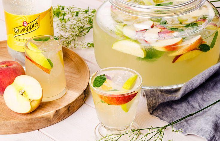 Svalkande sommarbål med gin, tonic och fläderlikör