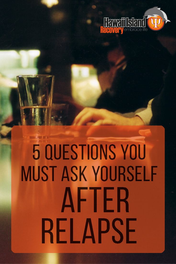 Use these 5 questions to help you reassess where you are today and regain control of your life and sobriety. #addiction #recovery #hawaii Call 866 390-5070