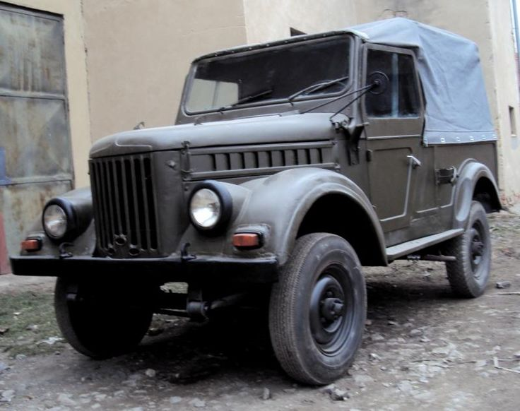 This Romanian POS is an ARO M461, an inheritor of the Soviet GAZ-69, their…