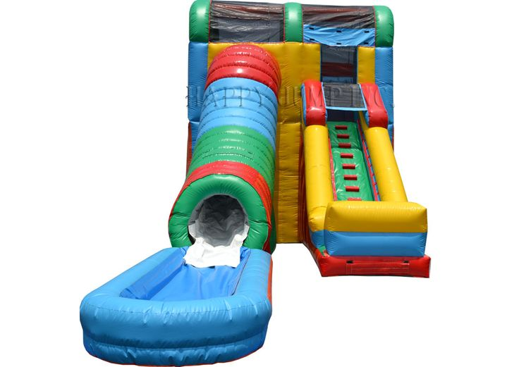 screaming tunnel water slide moonwalks inflatable water slides bounce house inflatable bouncers - Blow Up Water Slides