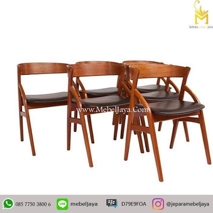 Kursi Cafe Desain Retro Scandinavia cocok sekali untuk kebutuhan kursi untuk cafe dan resto anda, material kayu jati solid terbaik Jepara - Harga Kursi Cafe