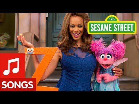 ▶ Sesame Street: Tyra Banks Sings the Alphabet - YouTube