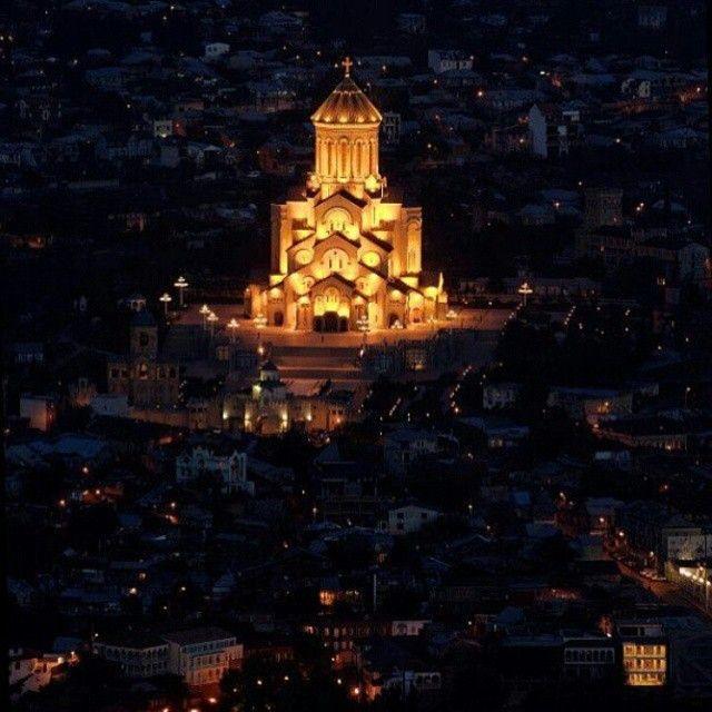 წმინდა სამება — Trinity Church «Пресвятая Троица»);  #Грузия #georgia #sameba # tbilisi