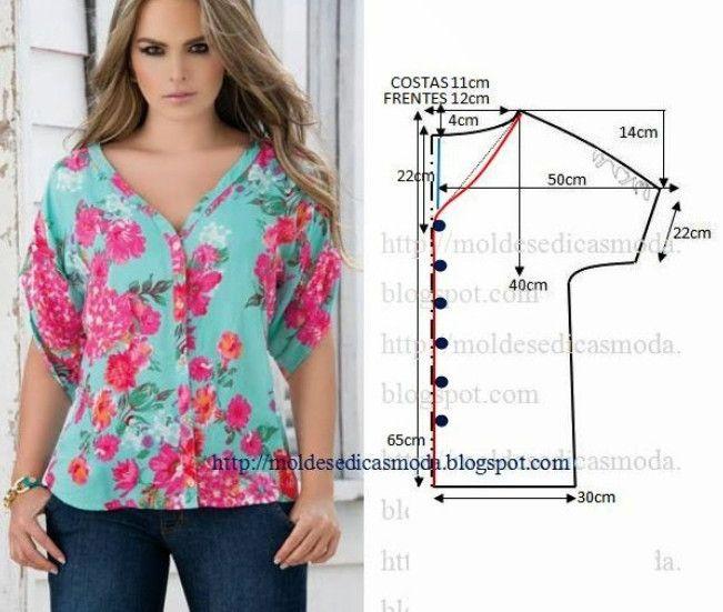 Nu este greu deloc să-ți coși singură o bluziță frumoasă, confortabilă și modernă! - Perfect Ask