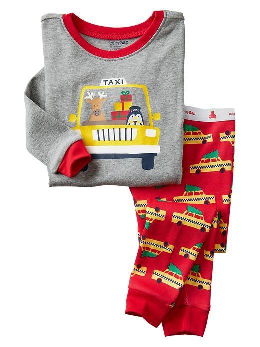 Holiday taxi sleep set | Gap baby - love this!