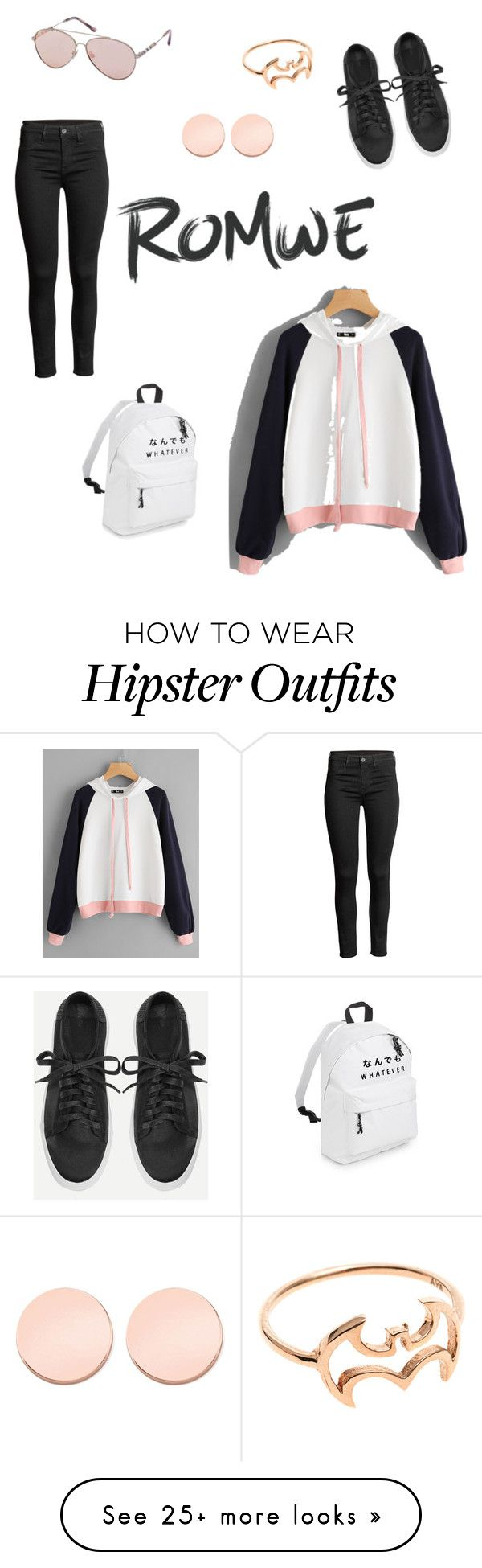 """""""Look for romwe"""" by kristina-pravdukhina on Polyvore featuring Burberry and Thomas Sabo"""