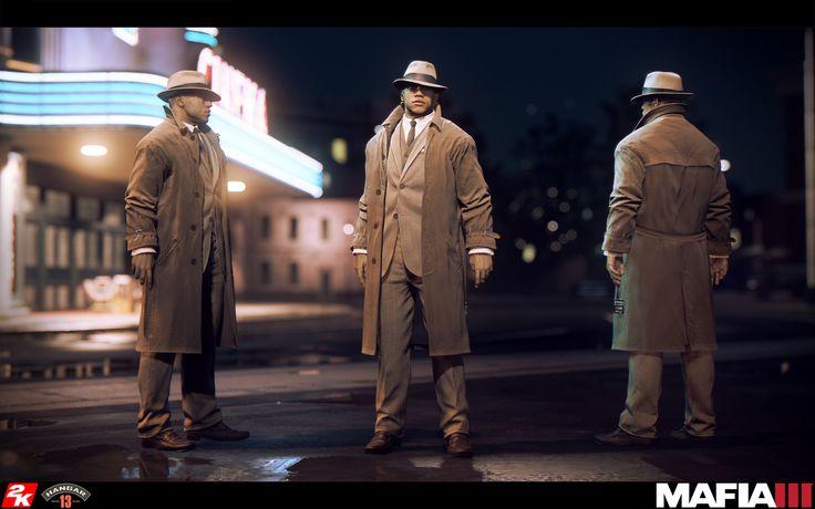 """ArtStation - Mafia 3 - Lincoln - """"Classico"""", Tomas Madr"""