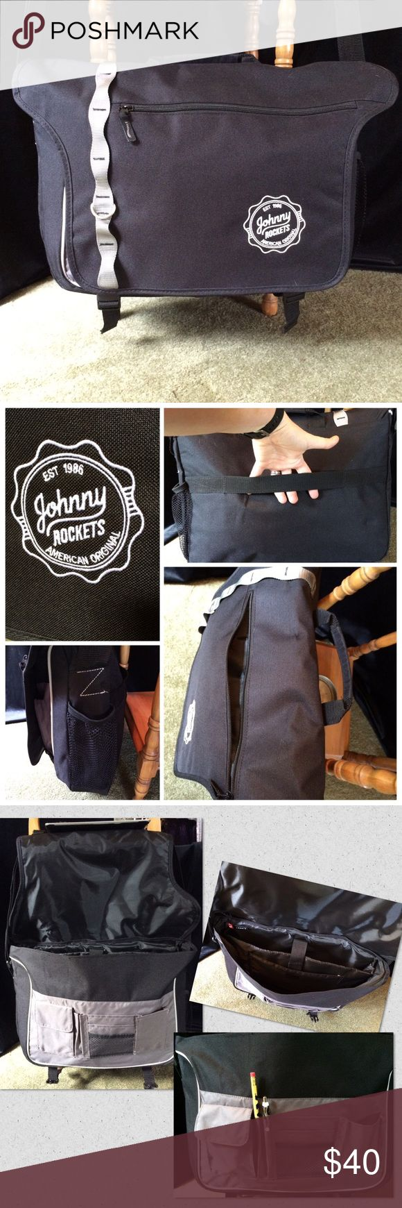 The rocket pizza food truck grits grids - Messenger Bag Johnny Rockets Messenger Bag Johnny Rockets This Is A Phenomenal