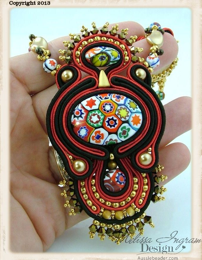 Social Butterfly Jewellery Design: Achieving Soutache Symmetry
