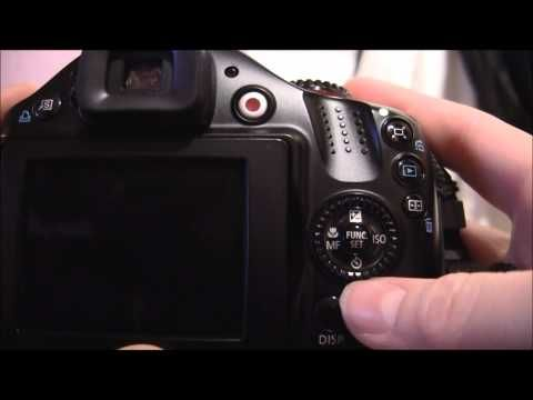 Canon Powershot SX40 HS Tutorial: This youtube channel has great tutorials