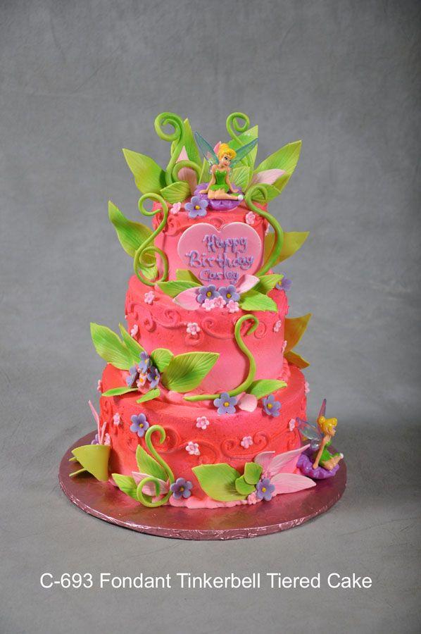 tinkerbell cake ideas