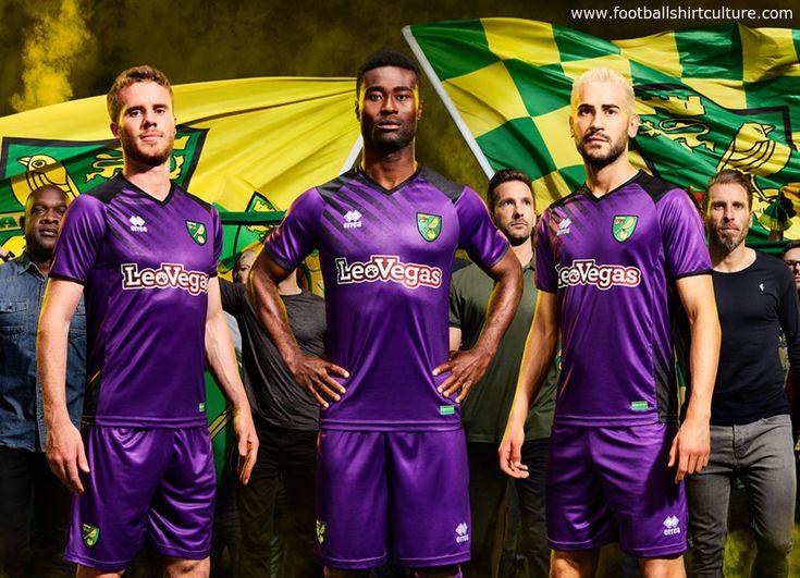 Norwich City 17/18 Errea Third Kit | 17/18 Kits | Football shirt blog