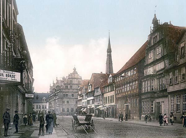 Osterstrasse, Hameln, Hanover, Germany between 1890 and 1900