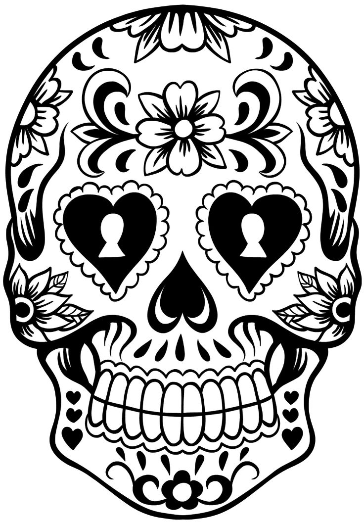 Sugar Skull Template 10 best Sugar skulk images on Pinterest Sugar skull