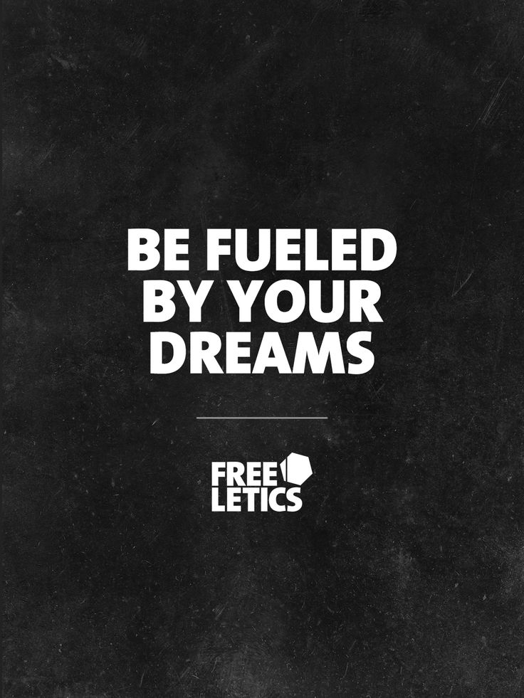 Any goal you set is at first a dream. After that it's up to you to make the decision tomove forward and take action. Don't be fooled but fueled by your dreams.  Dream ►  Take action ► Achieve ► www.frltcs.com/Motivate