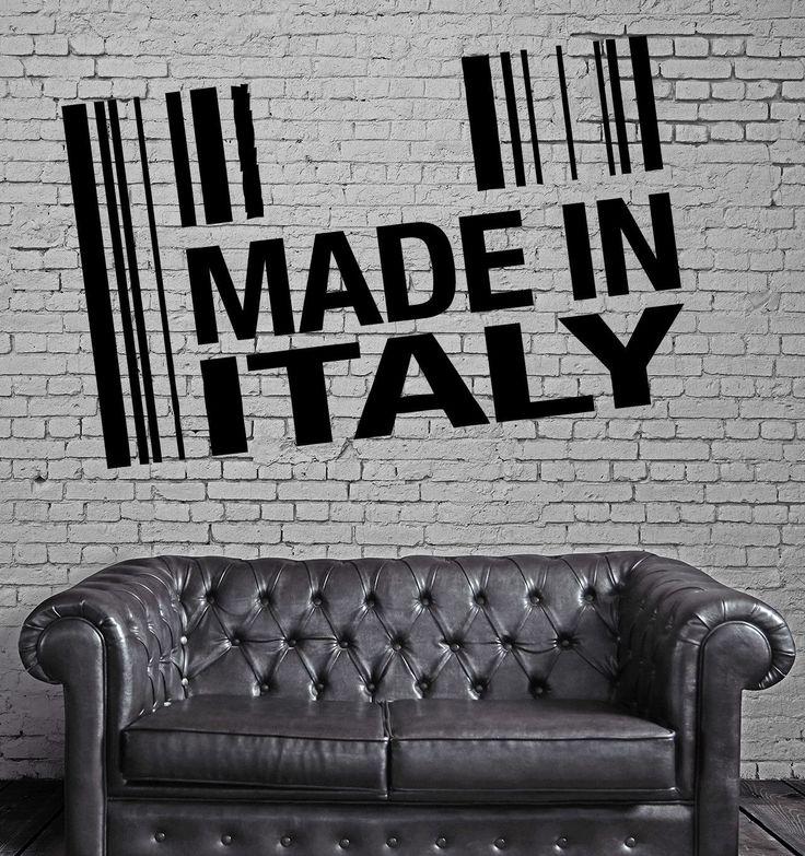 Restaurant Italian Food Business Pizza Store Wall Art Decor Vinyl Sticker z629