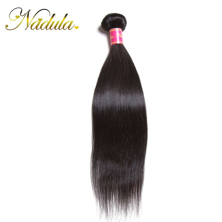Only 1 Piece /Lot 7A Peruvian Straight 100% Unprocessed 100g Peruvian Hair Extensiones Nadula Company Cheap Hair Bundles