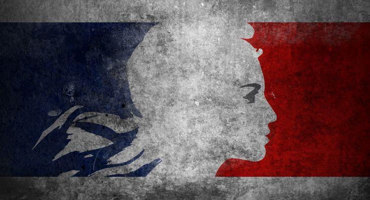 liberté. égalité. fraternité. la France.