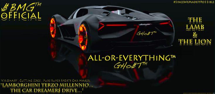 """Lamborghini TeRZo MiLLeNNio...The Car Dreamer$ DriVe"" $TREETBANGiNMuZiK®   #ALLorEVERYTHiNG | GHo$T™ #Lamborghini #Boeing #WorldBank #IMF #KPCB #CocaCola #Jordan #Amazon #GRAMMYPro #Warriors #Billboard #KRiSKiNG #GHoST #HipHop #Music #ExoticCars #HotWheels #Mattel #Transformers #HBO #NBA #NFL #Facebook #Google #YouTube #Instagram #Twitter #China #UnitedStates #UK #France #Indonesia #Germany #Canada #Mexico #Brazil #Europe #Japan ##Africa #Russia #India #Greece #Jamaica #2pac #BobMarley #MJ…"