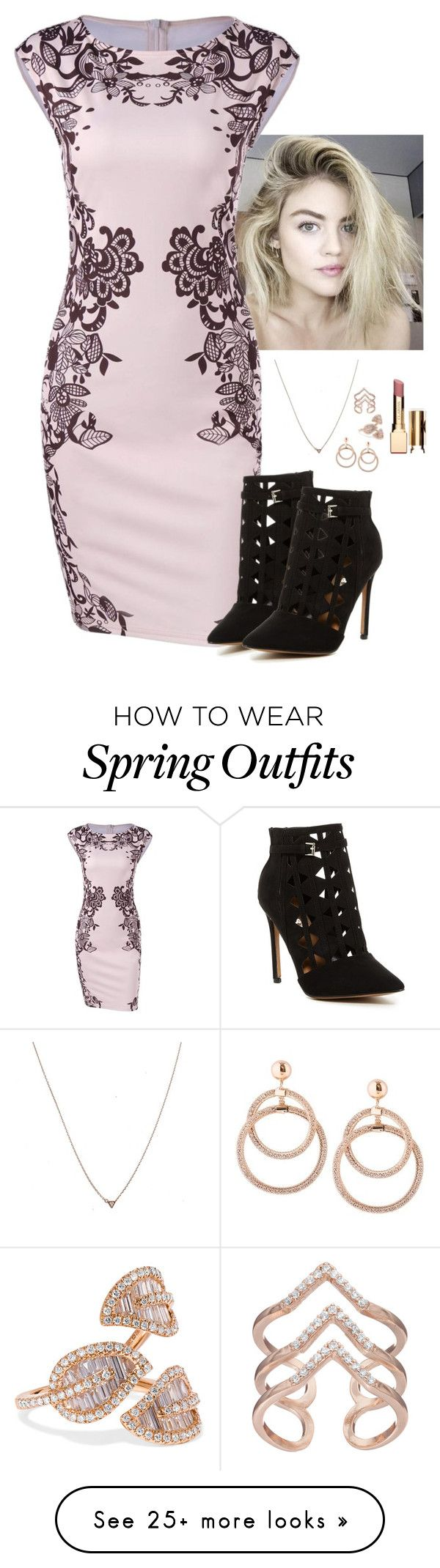 """""""[ Outfit ]"""" by demiwitch-of-mischief on Polyvore featuring Report, Anita Ko, LC Lauren Conrad and Clarins"""