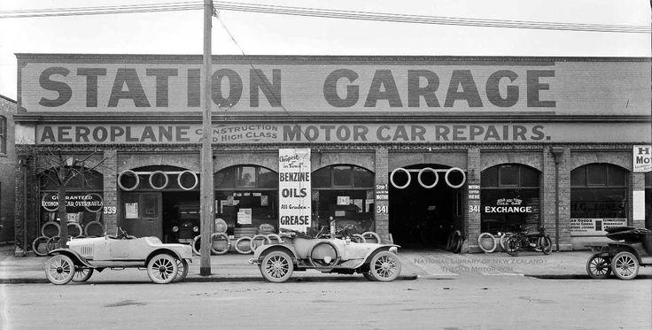 Mackie's Station Garage, 339-341 Moorhouse Avenue, Christchurch, New Zealand.