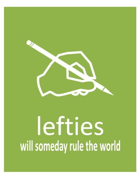 I am right handed and so is my husband....yet both of my children are lefties...so I am fairly certain this speaks the truth.