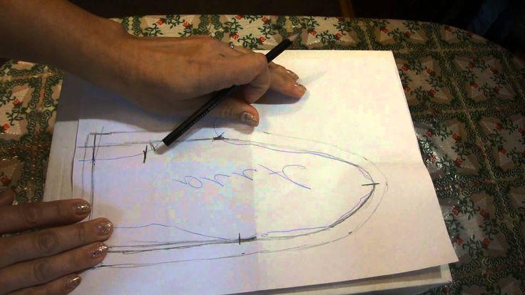 Рукавицы из норки. Урок 1 : выкройка по руке