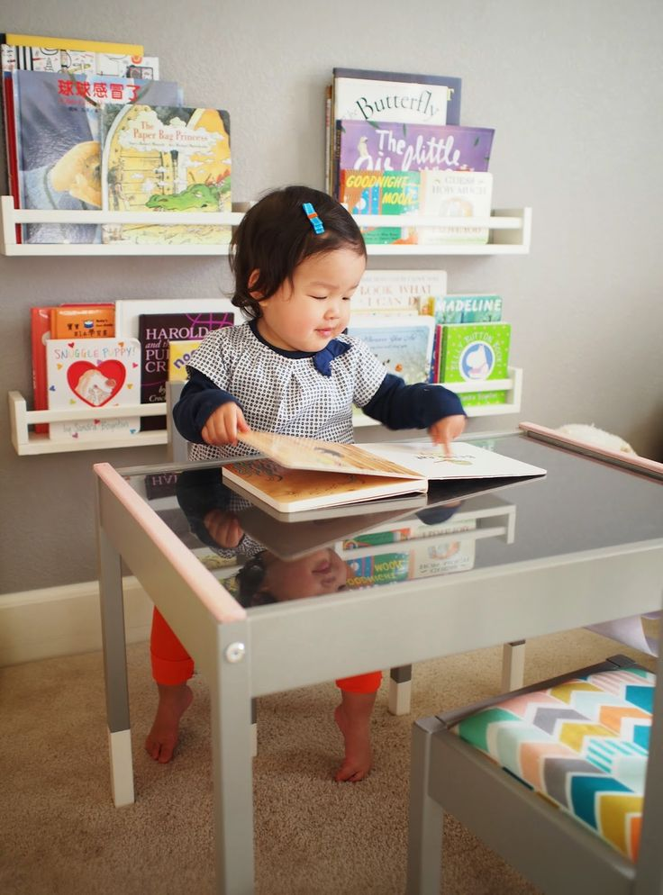 a's new play table  an ikea latt hack  ikea toddler