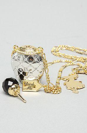 Disney Couture Jewelry The Alice in WonderlandDrink Me Bottle Pendant : Karmaloop.com - Global Concrete Culture