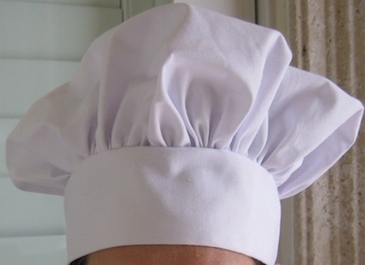 Tutorial for chef hat.