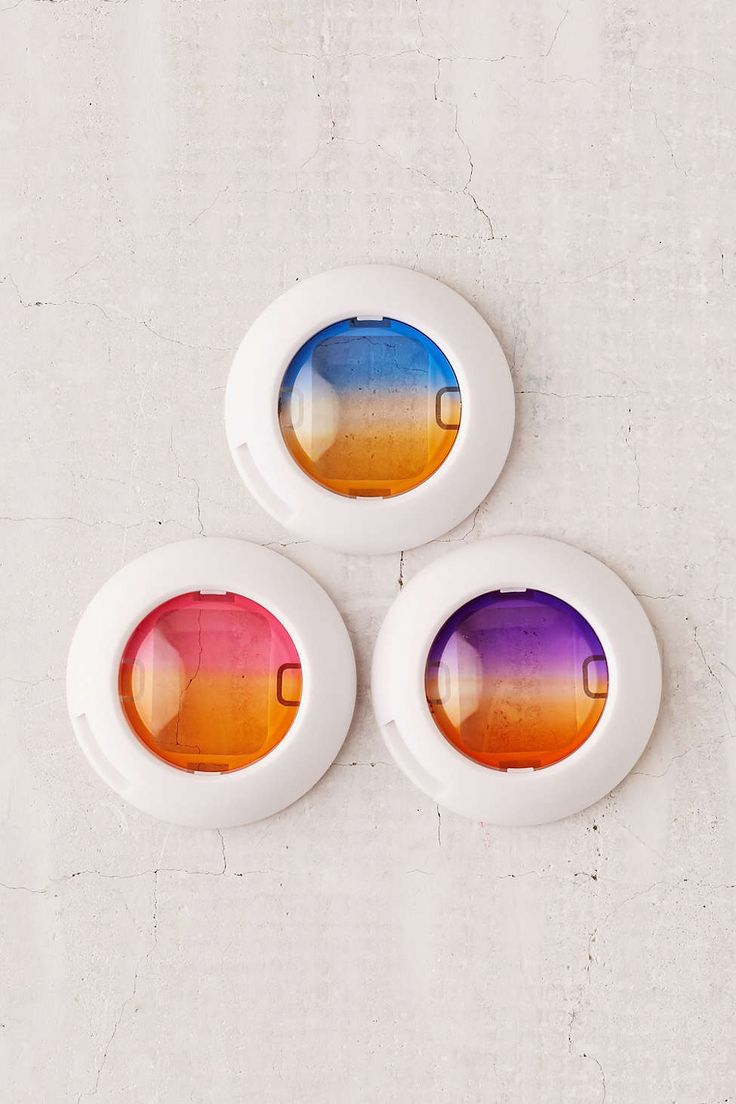 Mini Instant Lens Ombre Filter Set