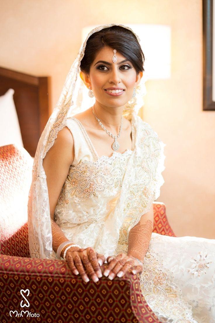 asian wedding photography east midlands%0A Indian bride in white saari  Bridal dress ideas