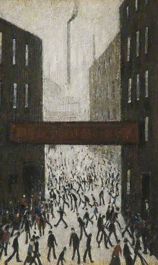 Laurence Stephen Lowry (Angleterre, 1887–1976) – Mill Scene (1971) The Lowry…