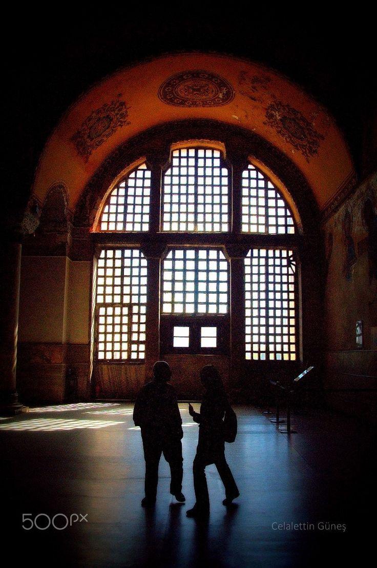 Haghia Sophia and Shadows - Ayasofya ve Gölgeler