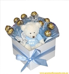 It's A Boy Chocolate Bouquet