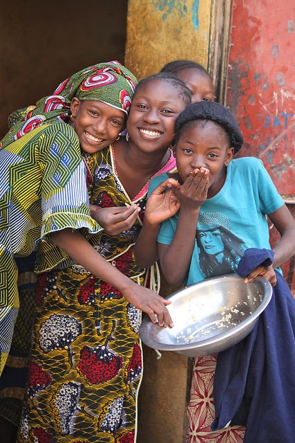 beautiful smiles from Mali, Africa