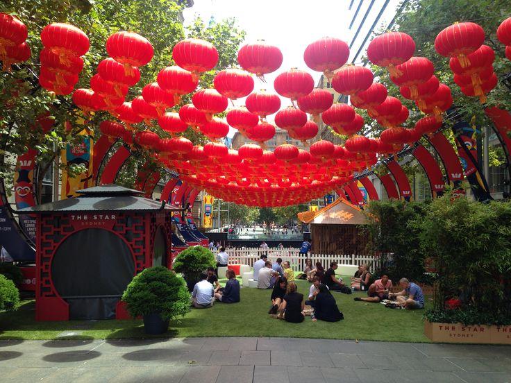 Sydneyssä vietettiin kiinalaista uutta vuotta.