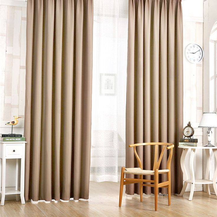 Blackout Thermal Grommet Heavy Thick Top Window Room Curtain Panels Drapes