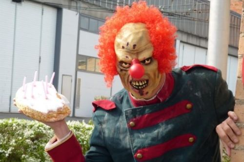 The Business Of Clowning Around: Terrifying Stalker Clowns For Hire  ... see more at InventorSpot.com