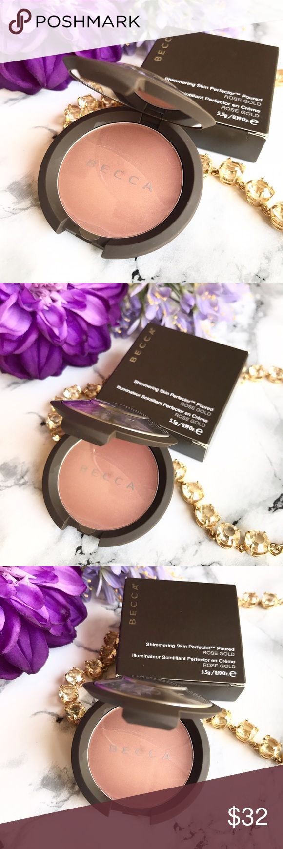 🆕 NEW 🌷 Becca Skin Perfector POURED - Rose Gold 🆕 NEW 🌷 Becca Shimmering Skin Perfector POURED in ROSE GOLD 🍃 Full Size 🍃 Brand New * Never Used * Never Swatched 💕 FIRM PRICE 💕 BECCA Makeup Luminizer