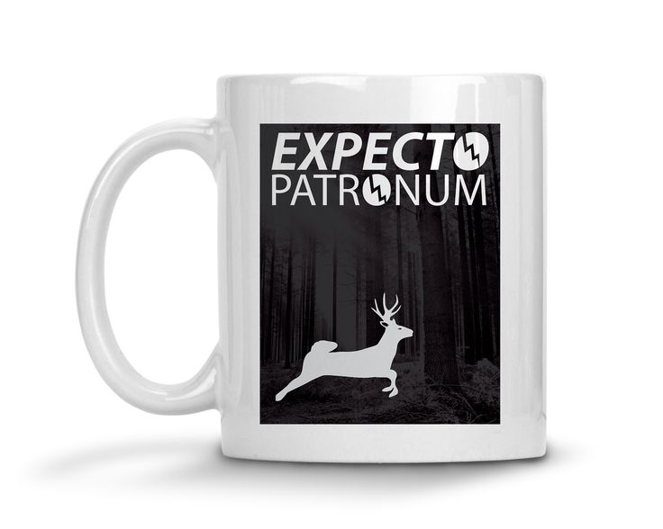 Expect Patronum Harry Potter Ceramic Coffee Mug  #funny #sassy #sayings #tops #womens #quotes #clothes #tees