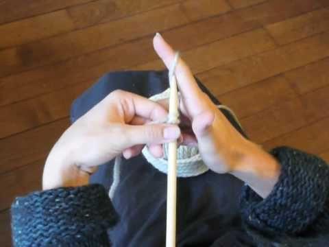 très bonne chaine pour apprendre le tricot !! Cours de tricot 1 - Montage simple des mailles - YouTube