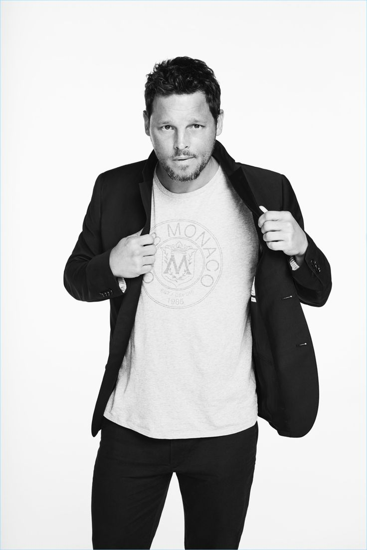 Beau Grealy photographs Justin Chambers for Club Monaco's #ClubThrowback Collection launch.