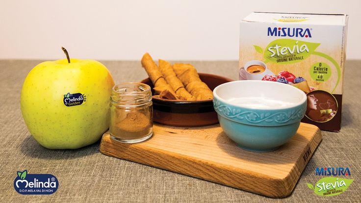 La dolcezza di origine naturale a 0 calorie di Misura Stevia si unisce a quella delle #Mele Golden #Melinda per un #dolce veloce e sfizioso, che profuma di #autunno. http://bit.ly/2ib3EKt