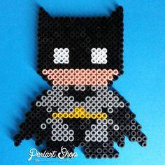 """Décoration super héros """"batman"""" en perles hama Plus"""