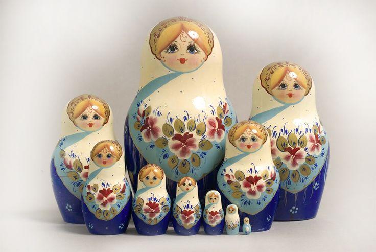 Authentiques poupées russes - Commerce équitable