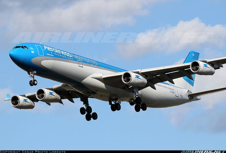 Aerolineas Argentinas LV-CSD Airbus A340-313X aircraft picture