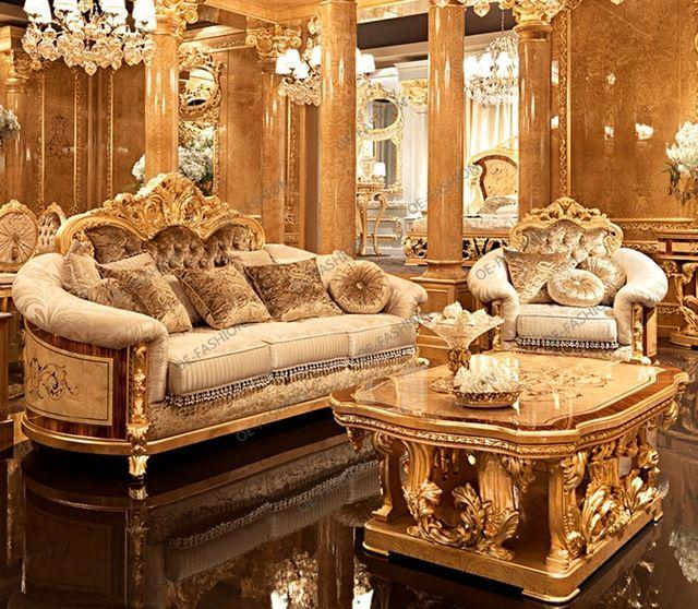 Oe Fashion Luxury Classic Italian Living Room European Wood Carving Sofa Set View Living Room Sofa Set Luxury Oe Fashion Product Details From Foshan Oe Fashio Italian Living Room Armchair Furniture Luxury Home Furniture